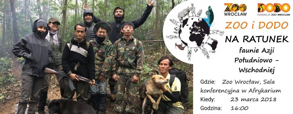 Zoo i Dodo na ratunek faunie Azji Południowo-Wschodniej