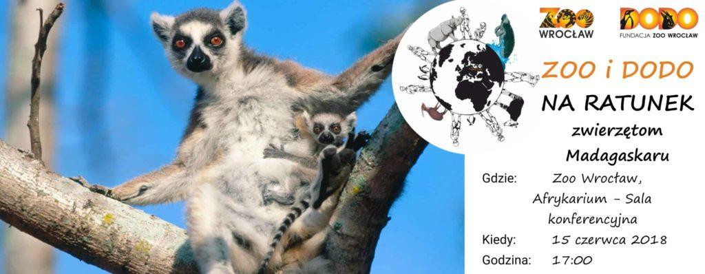 Zoo i Dodo na ratunek zwierzętom Madagaskaru