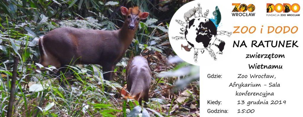Zoo i Dodo na ratunek zwierzętom Wietnamu
