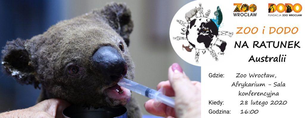 Zoo i Dodo na ratunek zwierzętom Australii