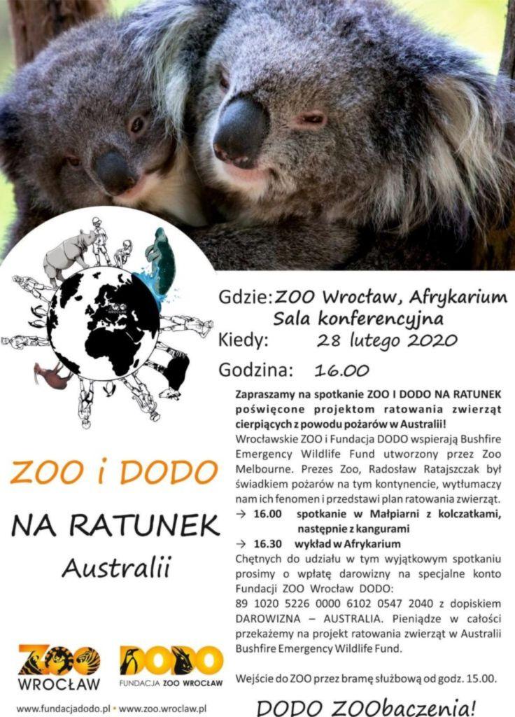 Zoo and Dodo to rescue Australia's animals