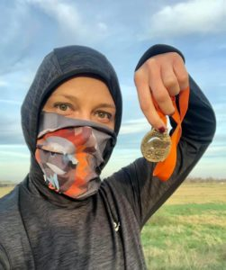 Biegaczka w Wild Run 2020 - Joanna z Wrocławia. fot. Joanna Klaus