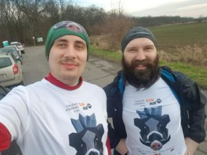 Biegacze w Wild Run 2020 z Wrocławia. fot. Konrad Coolph