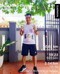 Biegacz Wild Run 2020 z Wietnamu. fot. Luong Thanh An