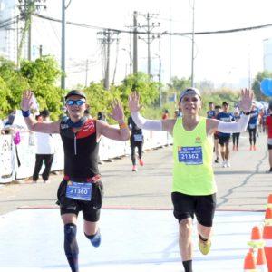 Biegacze w Wild Run z Wietnamu. fot. Nam Vu