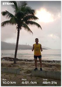 Biegacz Wild Run 2020 z Wietnamu. fot. Nguyen Duc Dung
