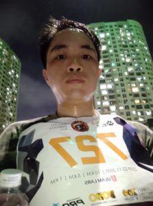 Biegacz Wild Run 2020 z Wietnamu. fot. Nguyen Duc Tho