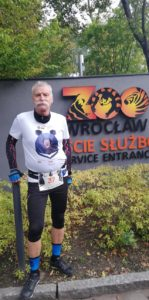 Biegacz w Wild Run 2020 z Wrocławia. fot. Pro-Run