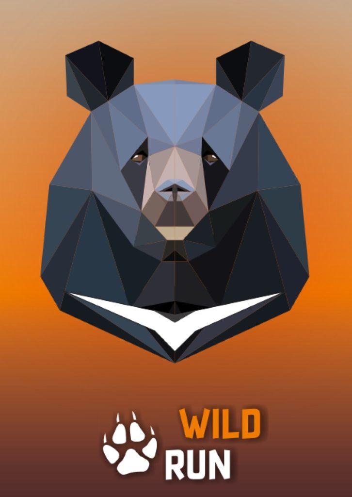 Niedźwiedź himalajski - grafika Wild Run 2020