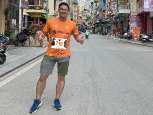 Biegacz w Wild Run 2020 z Wietnamu. fot. Dam Trong Hieu