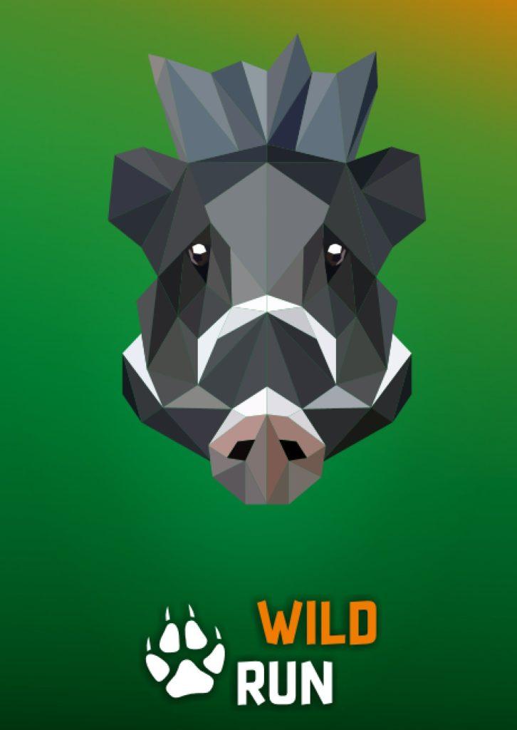 Świnia wisajska - grafika Wild Run 2020