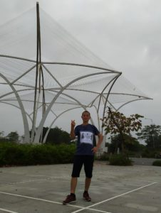 Biegacz Wild Run 2020 z Wietnamu. fot. Chien Anh Dinh