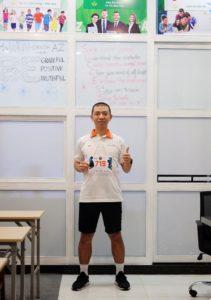 Biegacz Wild Run 2020 z Wietnamu. fot. Le Nguyen Bao
