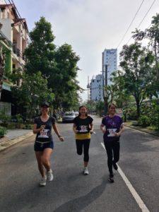 Biegaczki w Wild Run 2020 z GreenViet w Wietnamie