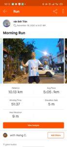 Biegacz w Wild Run 2020 z Wietnamu. fot. Van Linh Tran